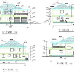 190套别墅新农村自建房CAD套图
