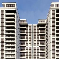 1343款 小区多层高层住宅建筑图纸