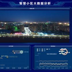 智慧小区大数据分析平台前端页面